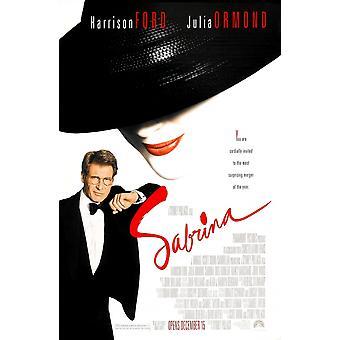 Sabrina (dubbelzijdig) originele Cinema poster