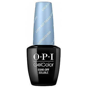 OPI GelColor Iceland 2017 Soak Off Gel Polish Collection - Check Out The Old Geysirs 15ml (GC I60)
