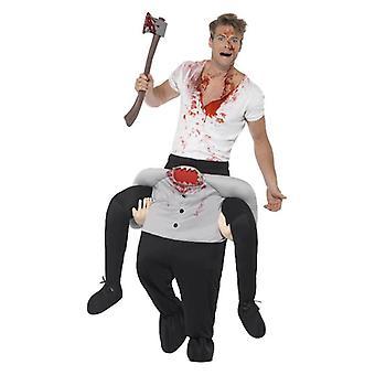 Mens Piggyback fej nélküli jelmez Jelmez Halloween