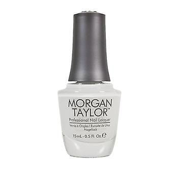 Morgan Taylor All White Now Luxury Smooth Long Lasting Nail laque polonaise