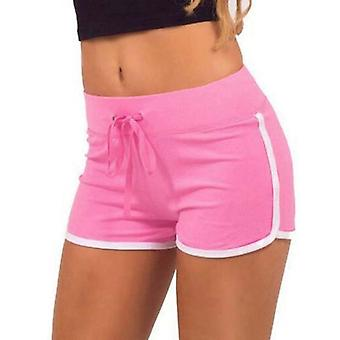 Women's training shorts-roze en wit