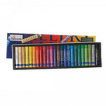 Inscribe Gallery Oil Pastels Box of 24 Colours