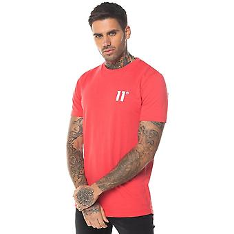 11 Degrees Core T Shirt Hot Red