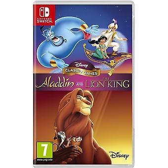 ディズニークラシックゲームアラジンとライオンキング任天堂スイッチゲーム