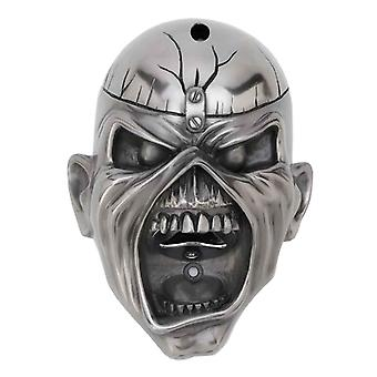 Iron Maiden Wall mounted Bottle Opener Eddie Trooper Face new Official Silver