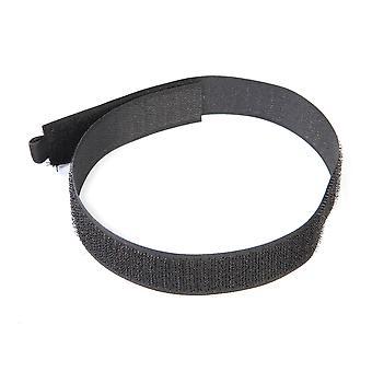 Krog og loop Kabelbånd 10pk-450mm sort