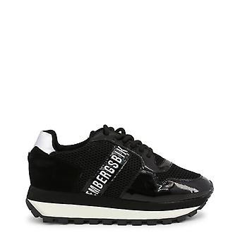 Bikkembergs women's sneakers, mesh black