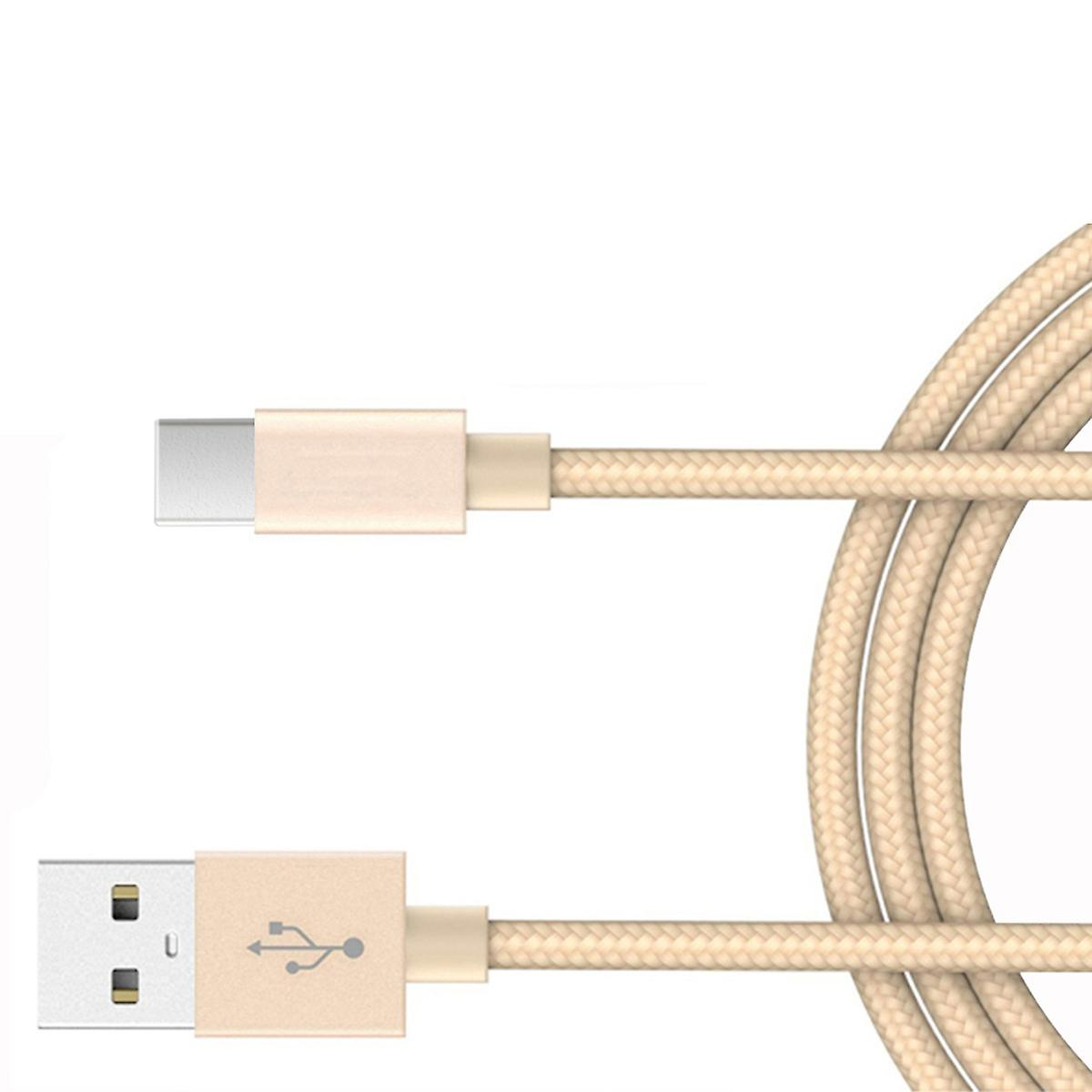 2M Huawei USB C Charging Cable - Gold