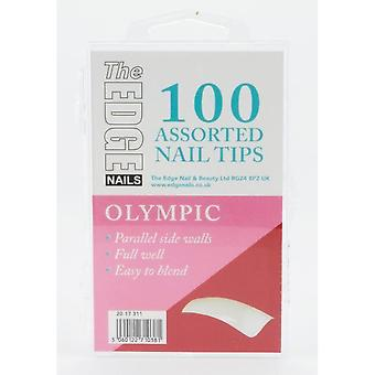 The edge olympic tips 100 asstd (boxed)