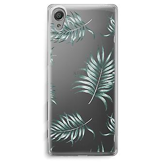 Sony Xperia XA Transparent Case - Simple leaves