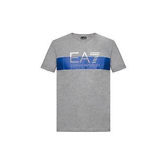 EA7 Men's Grey T-Shirt