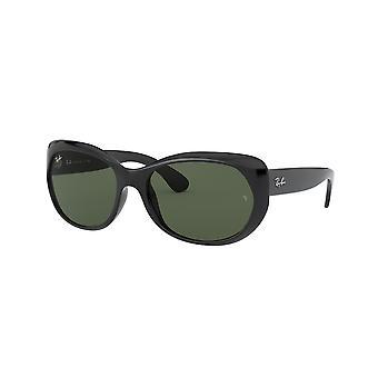 Ray-Ban RB4325 601/71 Black/Green Sunglasses