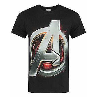 Avengers Age Of Ultron Logo Miesten's T-paita
