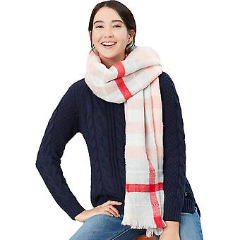 Joules Womens Stamford Checked Warm Winter Fashion Scarf