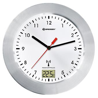 BRESSER MyTime Bad wit radio bad horloge