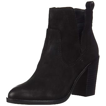 Dolce Vita Womens Shay Fabric Pointed Toe Ankle Clog Boots