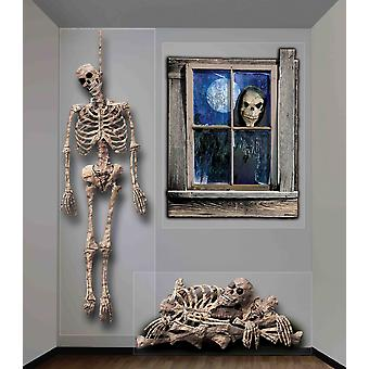 Ghosts Wall Decor 4ft X 5.3ft