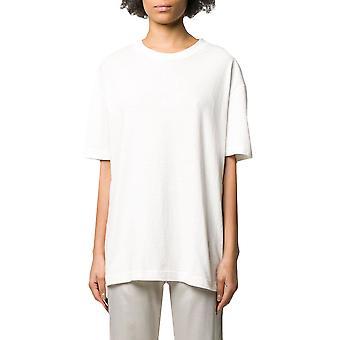 Acne Studios Al0119183 Women's White Cotton T-shirt