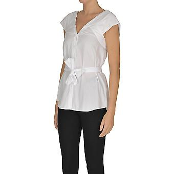Nenette Ezgl266120 Women's White Cotton Top