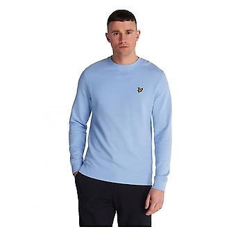 Lyle & Scott Crew Neck Sweatshirt Pool Blue