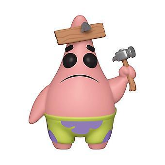 Funko POP Animation: Spongebob Squarepants S3: Patrick With Board Collectible Figure