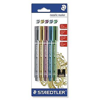 Staedtler metallic marker - Blister 5 colors 8323-S BK5