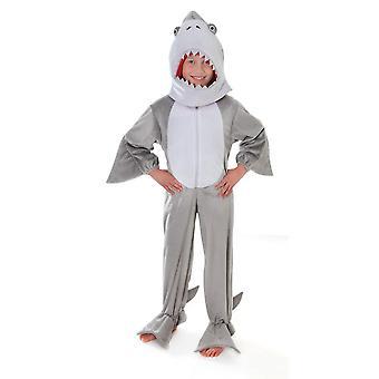 Bristol Novelty Childrens/Kids Jumpsuit Shark Costume