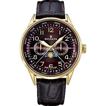 Delbana - Wristwatch - Men - Retro Moonphase - 42601.646.6.104