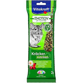 Vitakraft Emotion sticks Herbal Chinchillas 2 pcs. (Small pets , Treats)