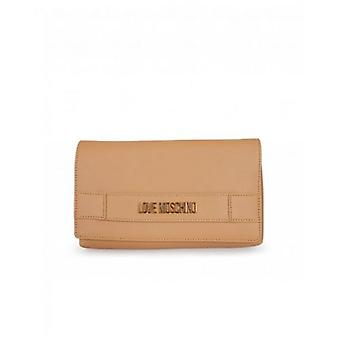 Love Moschino Accessories Letter Logo Soft Clutch