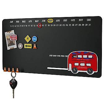 Magnetic Note Board London double decker bus