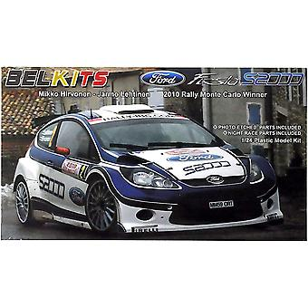 Belkits BEL002 Ford Fiesta S2000 2010 Ράλλυ Μόντε Κάρλο Νικητής 1:24 Μοντέλο Kit