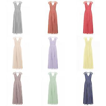 Little Mistress Womens/Ladies Keyhole Back Maxi Dress