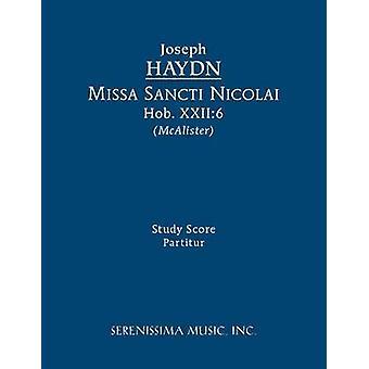 Missa Sancti Nicolai Hob.XXII6  Study score by Haydn & Joseph