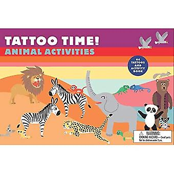 Tattoo Time!: Animal Activities (Magma for Laurence King)