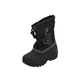 Kamik SOUTHPOLE4 Kids Boots Black Lace-Up Boots Winter
