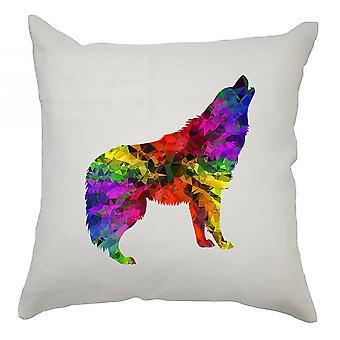 Animal Cushion Cover 40cm x 40cm - Wolf