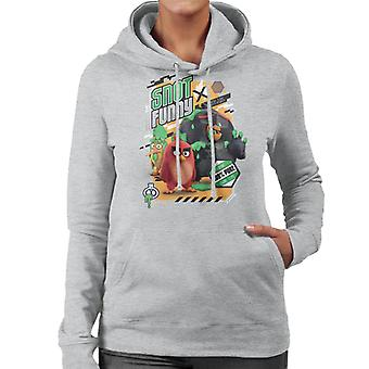 Angry Birds Snot Funny Women's Hooded Sweatshirt