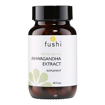 Fushi Wellbeing Ashwagandha Extract with Vegan MCT Veg Caps 60 (F0021264)