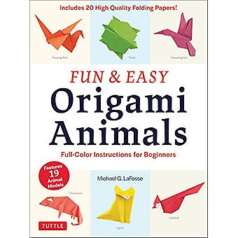 Fun and Easy Origami Animals - Full-Color Instructions for Beginners -