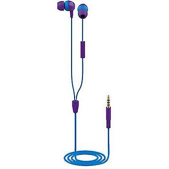 Trust Buddi Kids In-ear headphones In-ear Violet