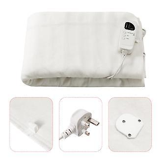 Electric Heated Under Blanket Washable Warm King Bed Mattress Super Soft 203x152cm