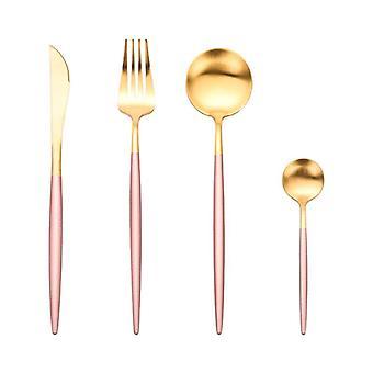 Stainless Steel Flatware Set 1 Including Fork Spoons Knife