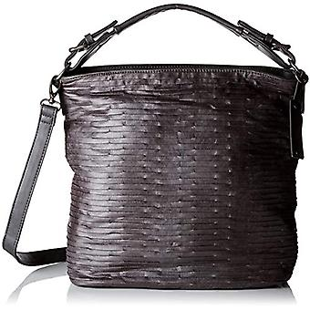 Fritzi aus Preussen IDA Grey Women's Shoulder Bag (Grey (Anthra 153/Eagle)) 14x34x32 cm (B x H x T)