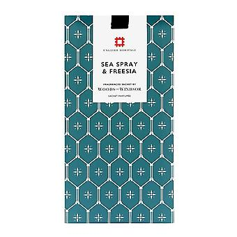 Woods of Windsor English Heritage Fragrance Sachet - Sea Spray & Fressia
