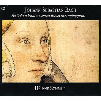 J.S. Bach - Bach: Sei Solo a violino Senza Basso Accompagnate, importação EUA Vol. 1 [CD]