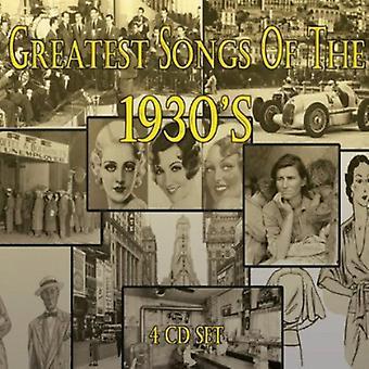 Greatest Songs of the 1930's - Greatest Songs of the 1930's [CD] USA import