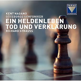 Strauss / Nagano - Ein Heldenleben / Tod Und Verklarung [CD] USA import