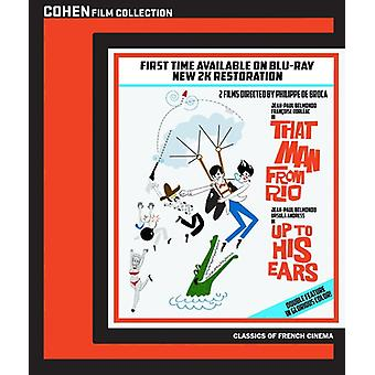 That Man From Rio / Up to His Ears [BLU-RAY] USA import