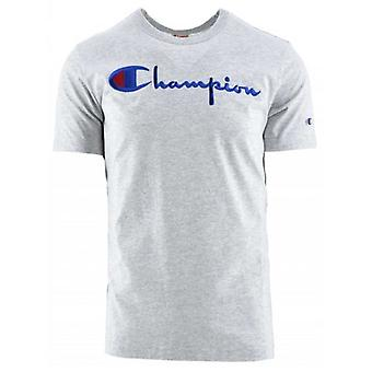 Champion Reverse Weave Grey Arm T-Shirt